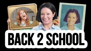 Yearbook Photo Redo! | Picture Day with Mamrie Hart! // I love makeup.