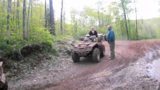 GoPro Goes 4 Wheeling in Hurley, WI
