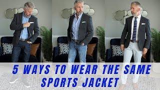 5 Ways to Wear a Sports Jacket