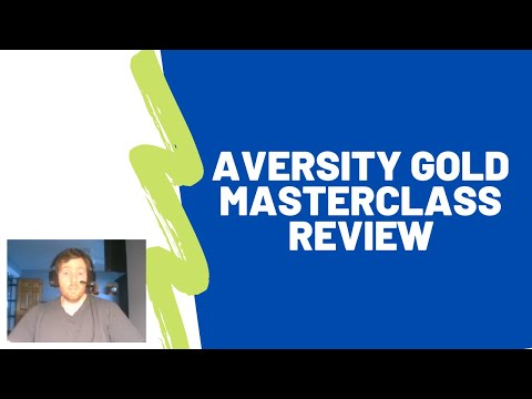 Aversity Gold Masterclass Review – Will It Teach You How To Do Affiliate Marketing Properly?