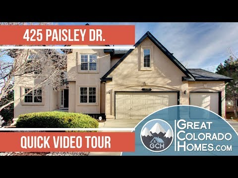 425 Paisley Dr - Colorado Springs Real Estate