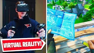 FORTNITE + VIRTUAL REALITY = AMAZING