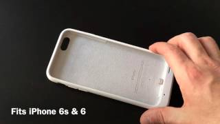 First look: Apple Smart Battery Case for iPhone 6/6s