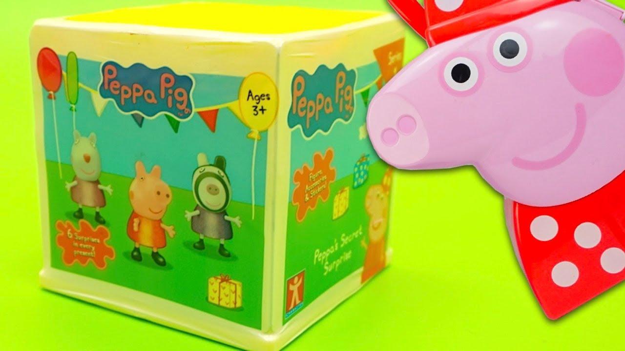 Сюрпризы и игрушки из мультика Свинка Пеппа