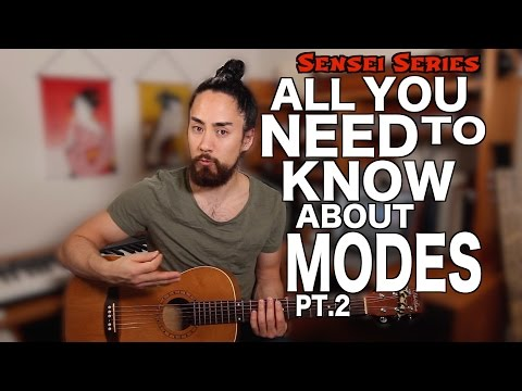 Using Modes on Guitar