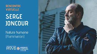 Entretien avec Serge Joncour, Prix Femina 2020