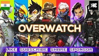 (PC) Karan ● OverWatch Ranked Live Stream ✅ Webcam