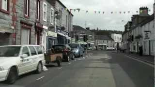 Drive through Dalbeattie, Dumfries & Galloway 2012