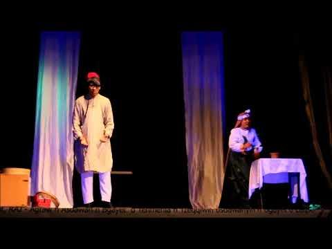 RAJ, prisentaion de la troupe théâtral de leghwat au festival national universitaire du théâtre fémi