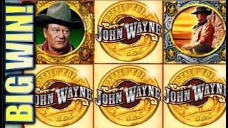 ★BIG WIN! SPINNING STREAK★ JOHN WAYNE & OUTBACK JACK ADVENTURES IN THE BUSH Slot Machine
