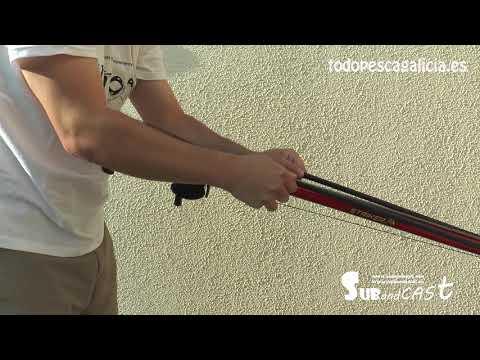 Cargar fusil de pesca submarina