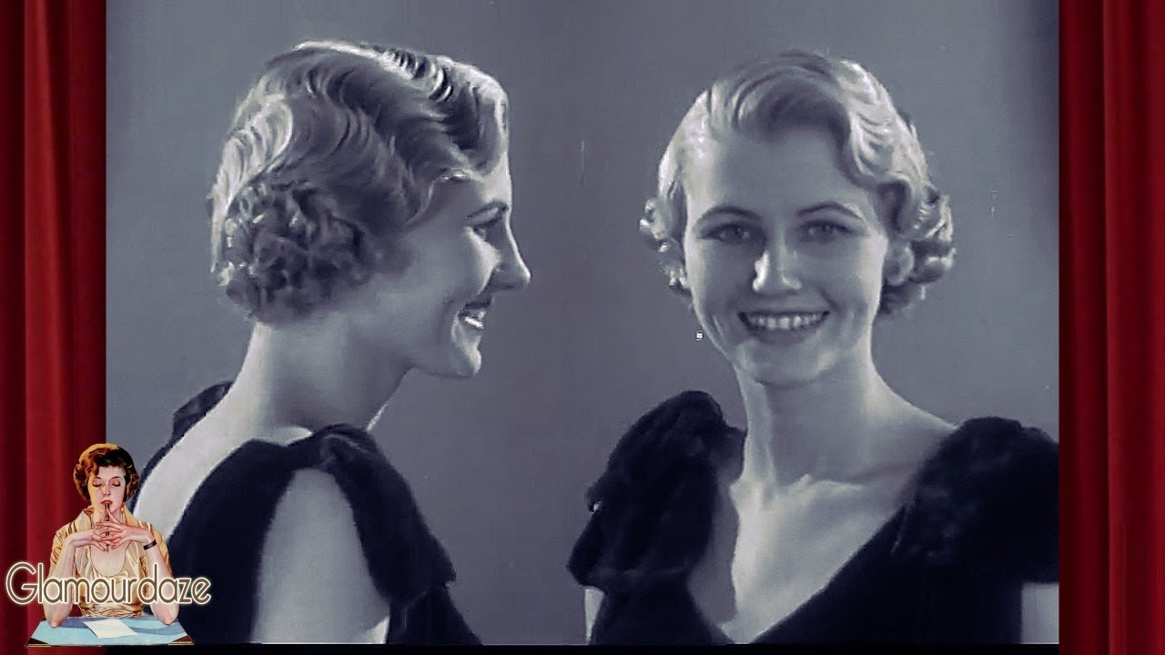 finger waves - 1930's hairstyles film 1935