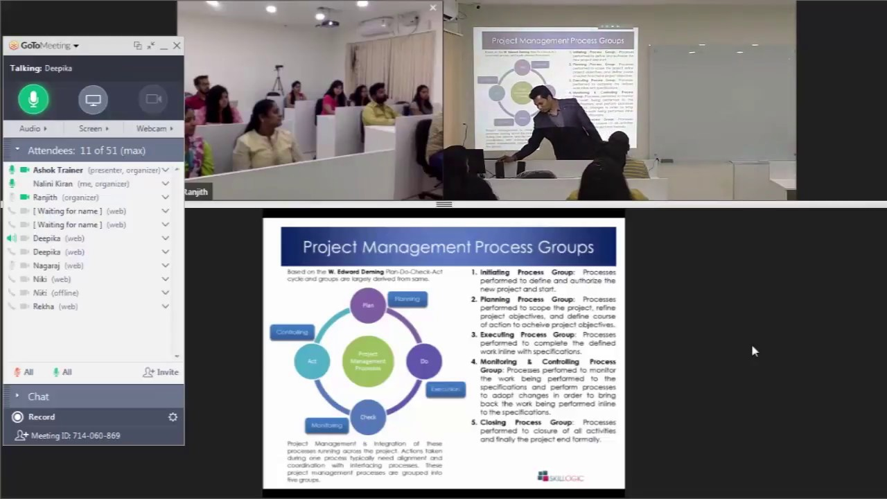 Pmp Certification Training Lvc Mode Skillogic Youtube