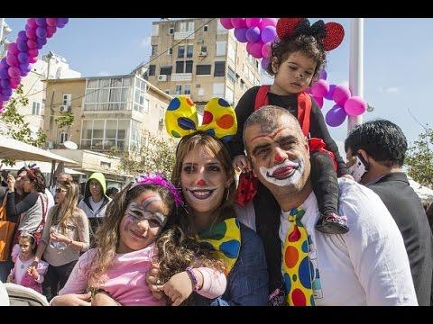 В Израиле отмечают еврейский праздник Пурим (новости)