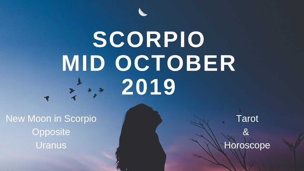 Scorpio season starts today, and there's a good chance you're going ...