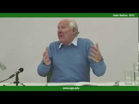 Alain Badiou. The Philosophical Question of Change Within Greek Antiquity. 2012