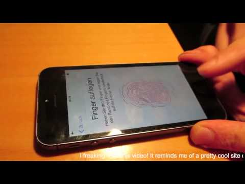 Biometrics hack fingerprint 5c CHAOS COMPUTER Club breaks Apple TouchID hacking iphone 5S CCC