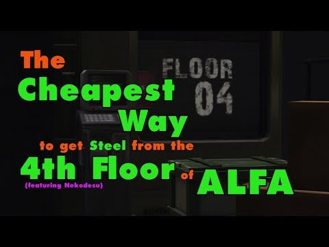 Last Day on Earth: The Cheapest Way to get Steel from Easy&Hard Mode of 4th floor of Alfa (Vid#118)