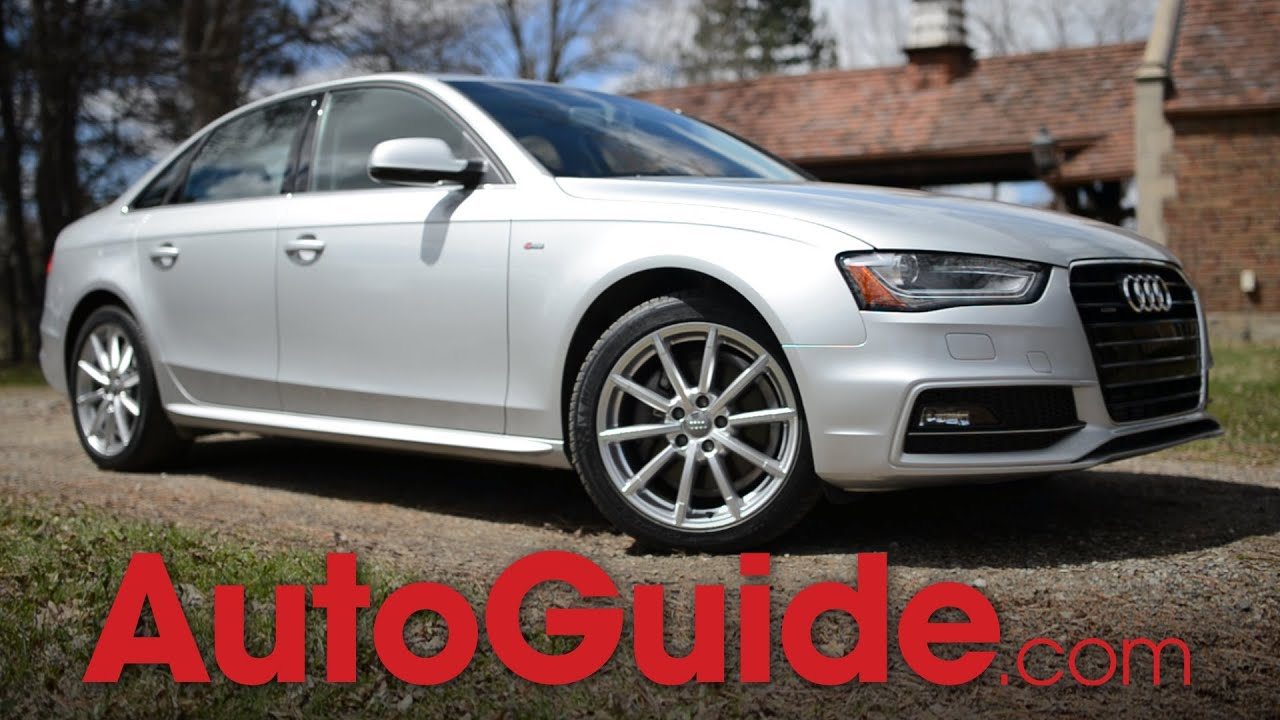 2014 audi a4 2.0t quattro review - youtube