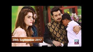 Salam Zindagi With Faysal Qureshi Guest: Child Abuse & Child Labour  - 28th September 2017