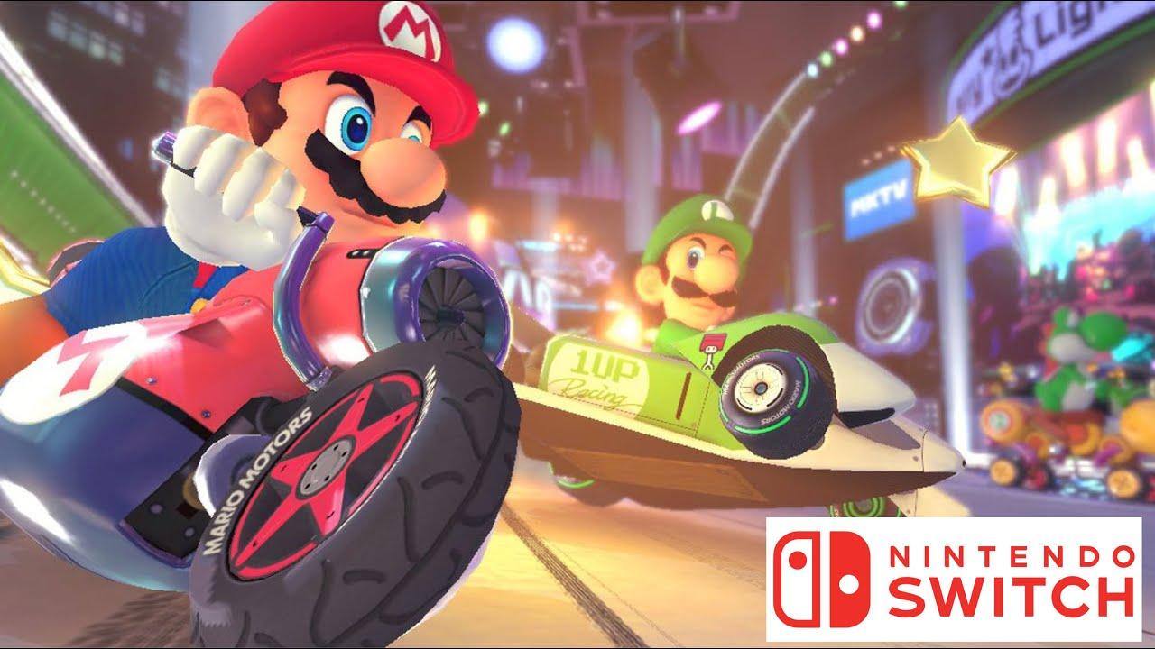 Mario Kart On The Nintendo Switch Lite