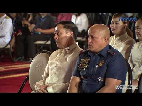 Oath Taking of Philippine National Police Star Rank Officers (Speech) 8/30/2017