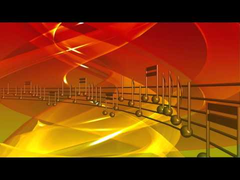 Musical Notes FREE Video Background 1080p