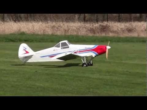 Hangar 9 33% Piper Pawnee Giant Scale Takeoff and Landing