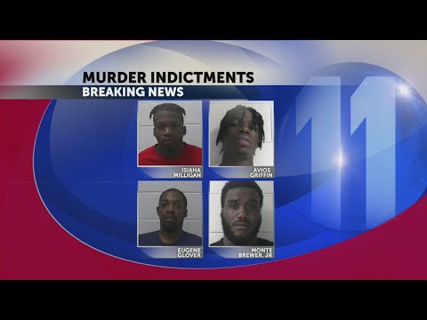 4 indicted in 2017 murder of pregnant Johnson City mother