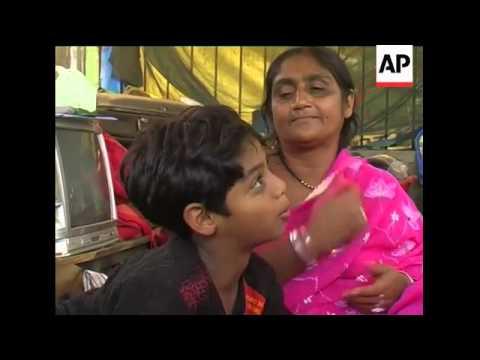 'Rebuilt house' in slum, Slumdog star whose house was destroyed sot