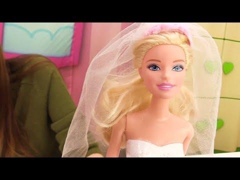 Игры для девочек - Куклы: СВАДЬБА БАРБИ! Одевалки