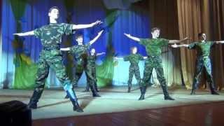 Солдатский танец «Романтиков»