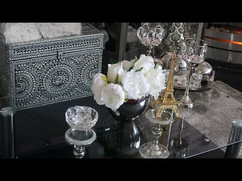 GLAM HOME DECOR: Coffee Table and China Cabinet Styling