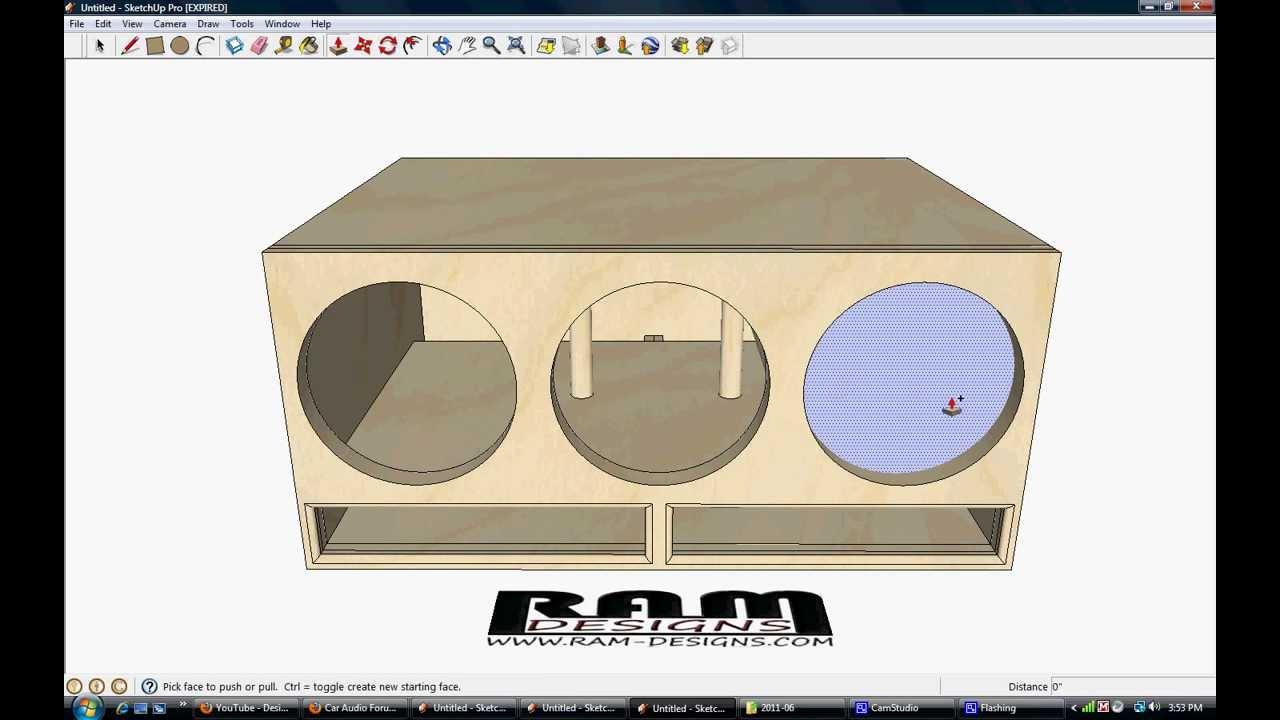 12 Inch Sub Box Designs (1)