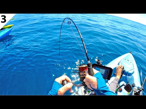 Offshore Kayak Fishing For Deep Sea Giants (CATCH & COOK) -- #FieldTrips New Zealand Ep 3