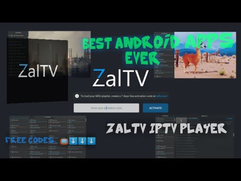Best Android Apps Ever : ZalTv Iptv Player Free New Codes All The Time Like  And subscribe with us