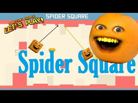 Get Annoying Orange Plays - SPIDER SQUARE! (Multiplayer iOS) Screenshots