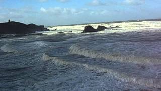 Bude Sea Pool Cornwall Storm 2008