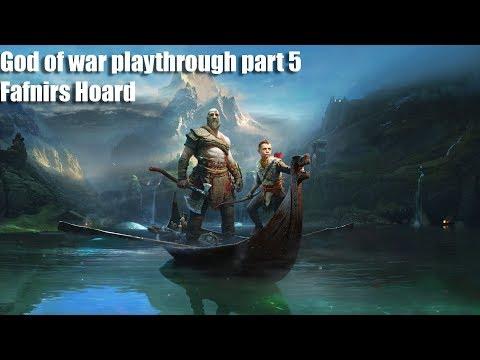 God of War Playthrough part 5 fafnirs hoard