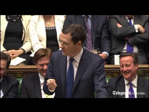Osborne needles Miliband with Magna Carta gag