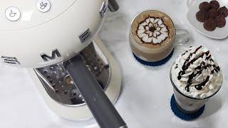 ♥홈카페 레시피♥ 아이스카페모카 / 따뜻한 카페모카 만…