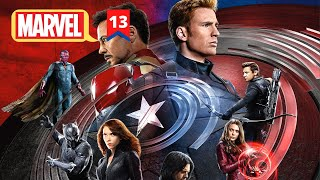 Captain America Civil War Explained in Hindi | MCU Movie 13 Explained in Hindi