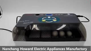 HHD 12 egg incubator with LED egg testing function thumbnail