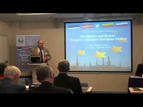 The Baltic and Russia: Toward a Common European Future. Part 2 of 5.