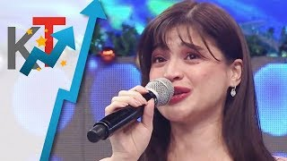 FIRST TIME ON TV Anne gets emotional on It's Showtime while talking about her pregnancy