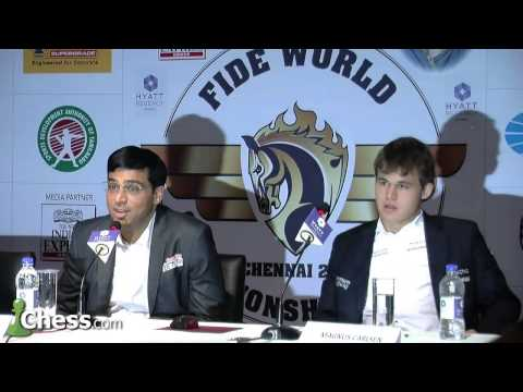 Chess World Championship, Game 7 Anand-Carlsen: Draw