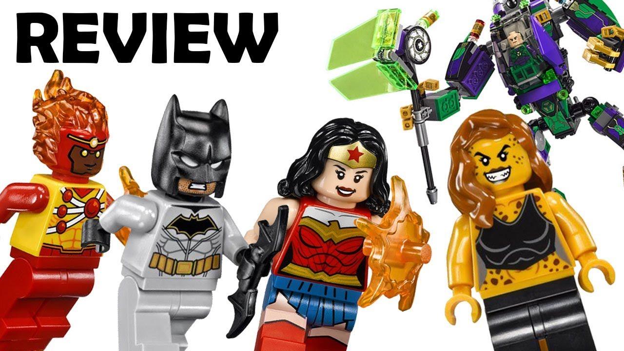 Lego DC SuperHero 76097 Lex Luthor Mech Takedown w// Firestorm Batman Minifigure