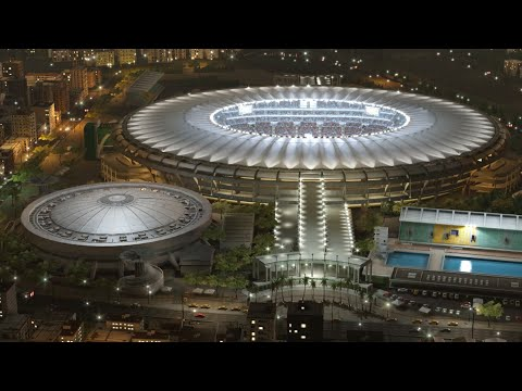 PES 2016 Maracanã Stadium ( Data Pack 2.00 )
