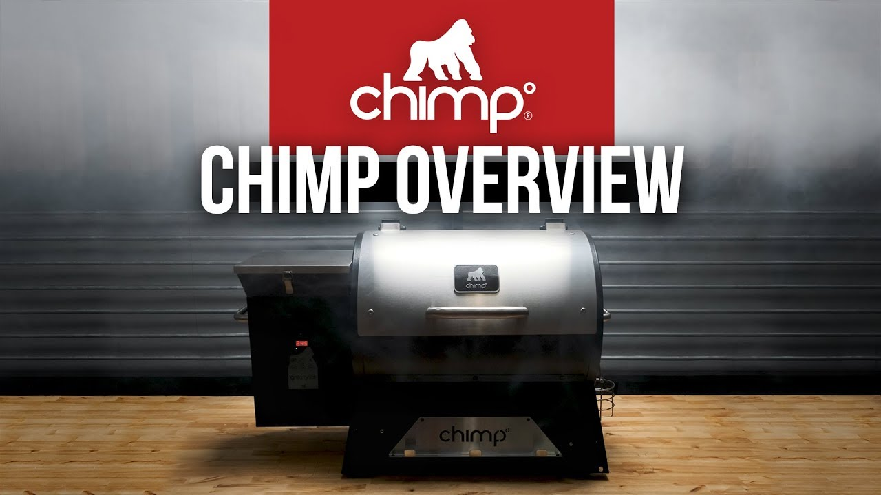 The Chimp   NEW Portable Wood Pellet Smoker Grill - Grilla ...