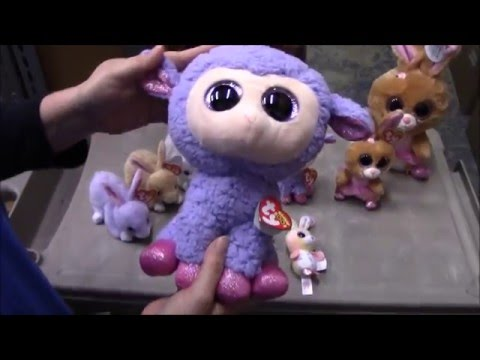 4f51c5093c9 TY Beanie Babies   Boos - Easter 2016 Releases Review - BBToyStore.com -  YouTube